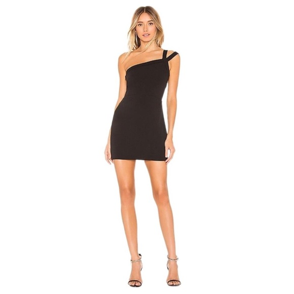 Lovers + Friends Dresses & Skirts - Lovers & Friends Rory Mini Dress Revolve Black